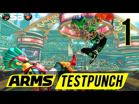[1] Let's Play Arms Testpunch w/ GaLm