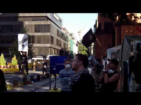 Das Occupy Düsseldorf Camp wird geräumt! [1.August 2012]