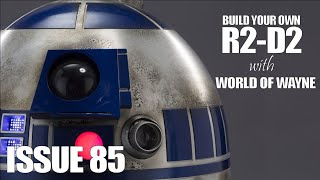 Build Your Own R2-D2 - Issue 85 - Adding the Shoulder Joints