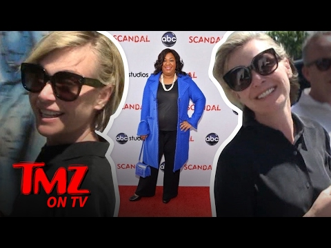 Portia de Rossi Explains Why She Will No Longer Be On 'Scandal' | TMZ TV