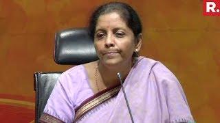 Video Nirmala Sitharaman's All Out Attack Against Congress | Full Video download MP3, 3GP, MP4, WEBM, AVI, FLV Juli 2018