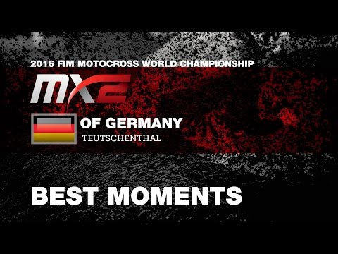 MX2  Qualifying Race Best Moments MXGP of Germany 2016