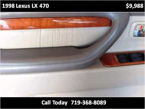1998 Lexus LX 470 Used Cars Colorado Springs CO