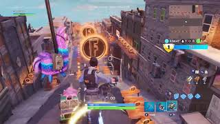 (New Map) 591 Coins WORLD RECORD! Fortnite: Downtown Drop (Glitchless)