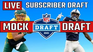 2021 NFL Mock Draft LIVE | Subscriber Edition