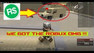 Call Of ROBUX - Operation FREE ROBUX - #2 (MUST WATCH Roblox)