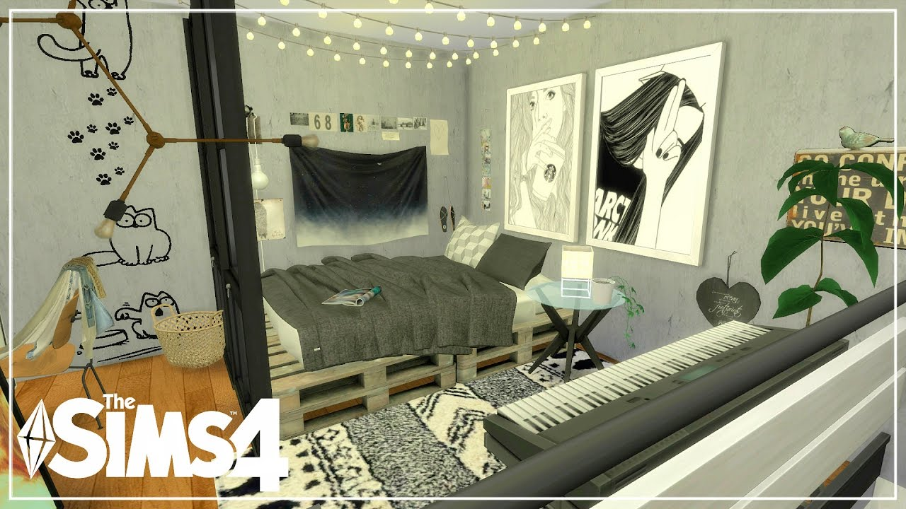 The Sims 4 Apartment Build Grungy Industrial Loft