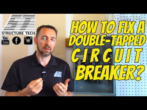 How to fix double-tapped circuit breakers - Structure Tech ... Will Aluminum Wiring P Inspection on