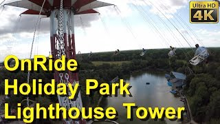 Holiday Park - Lighthouse Tower - Star Flyer - 4K OnRide 2018 - POV - Lighthouse Tower onride