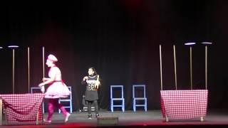 Hazel Bock Plate Spinning act Circus Quirkus 2016
