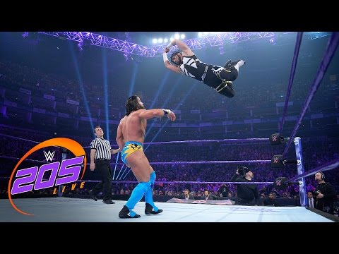 Mustafa Ali vs. Tony Nese: WWE 205 Live, May 9, 2017