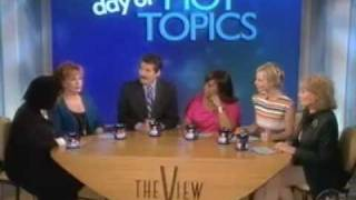 John Stossel talks with the ladies of The View