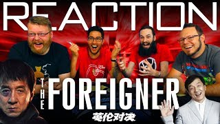The Foreigner Trailer #1 REACTION!!