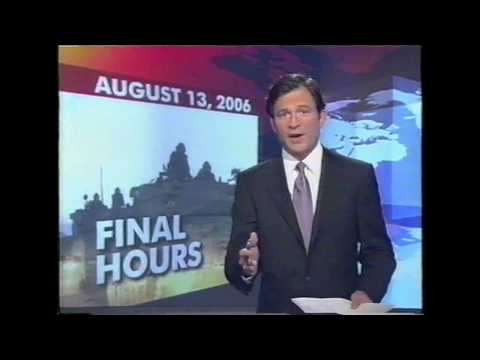 Cease Fire with Israel and Hezbollah (2006) ABC World News