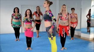 Восточные танцы  Видео урок 2  Тренер Евгения Бескова
