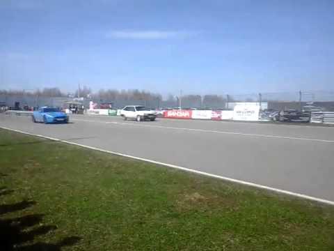 ВАЗ 2108 (?) vs Jaguar XKR-S (Нижний Новгород)