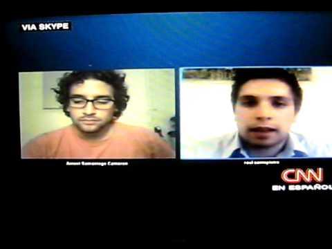ANTONI SAMANIEGO comenta partido Uruguay-Holanda en CNN.