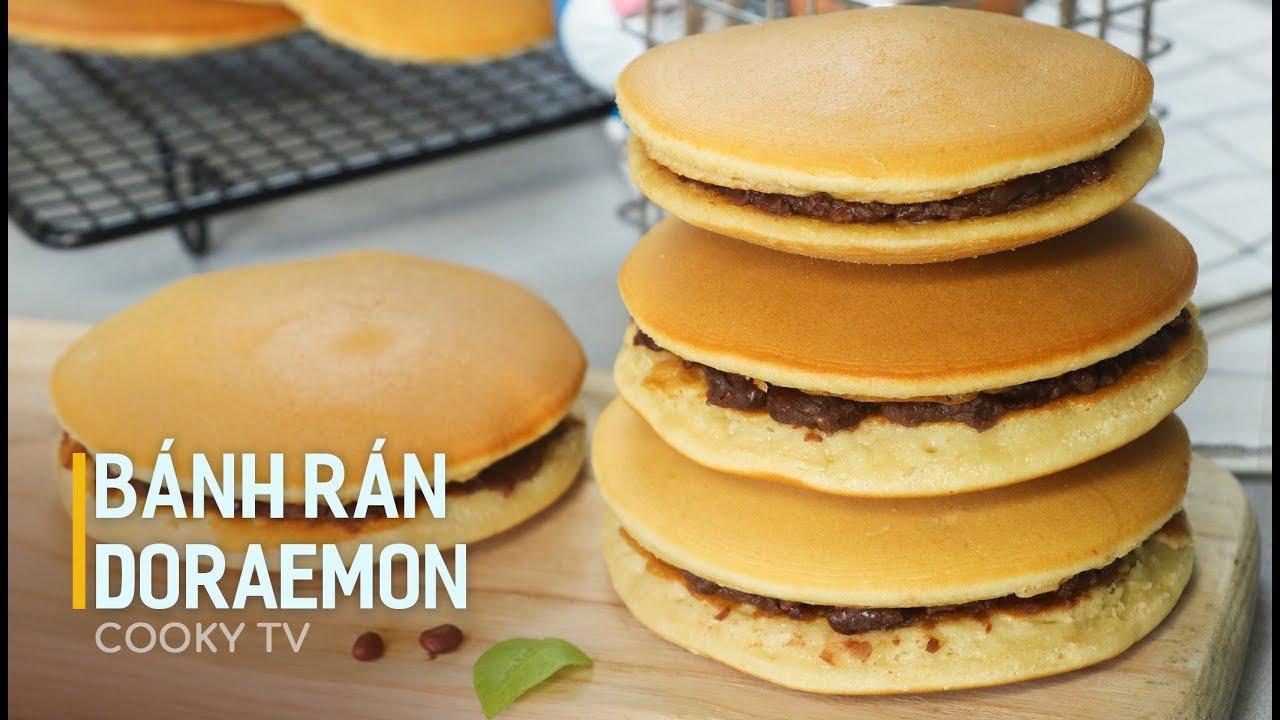 #CookyVN – Cách làm BÁNH RÁN ngon hay DORAYAKI xinh xắn mang cả trời tuổi thơ – Cooky TV