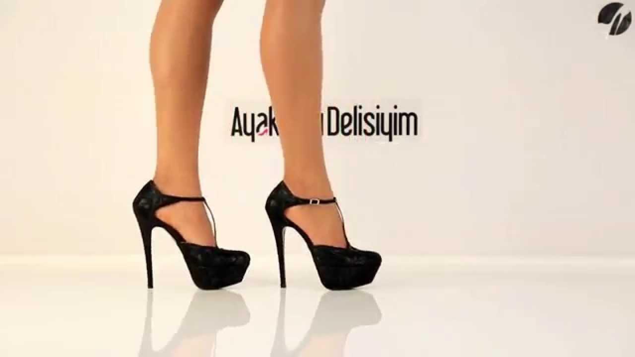 Dantelli Ayakkabı Modelleri
