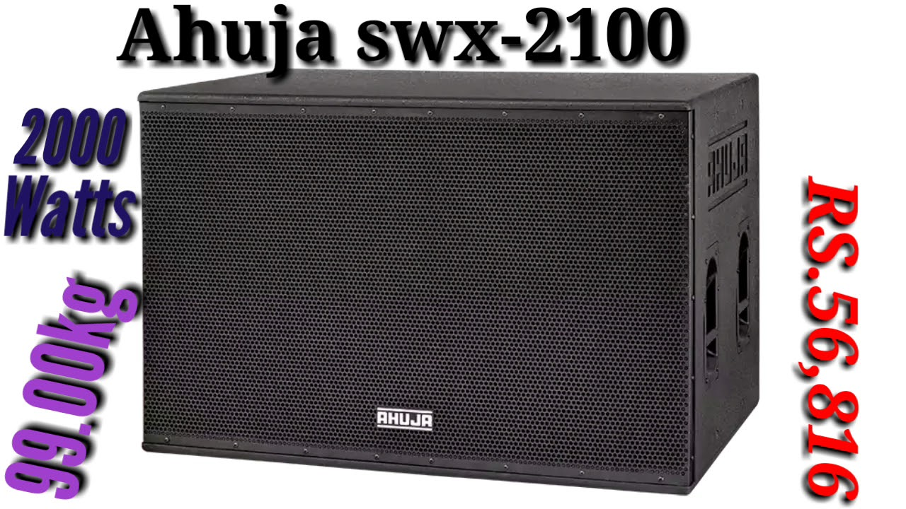 Ahuja High power swx-2100 {2000 watts}