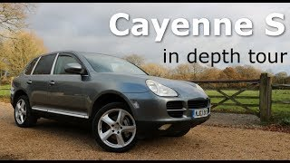 2004 Porsche Cayenne s 4.5 V8 955 type 9pa  Interior, exterior detailed tour startup