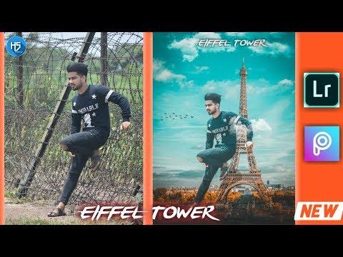 Eiffel Tower photo Editing in Picsart // 2019