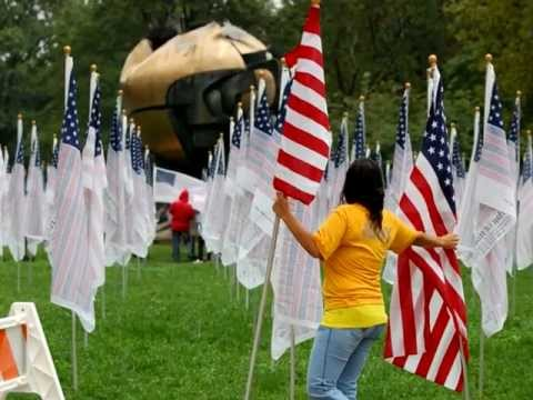 9/11 10th Anniversary NYC Field of Honor