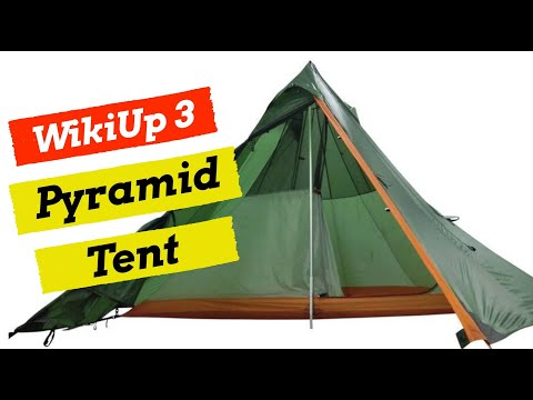 Wild Camping Tent Review - Nigor WickiUp 3 / Shangri-La 3 - Is It The Ideal 4 Season Tent?