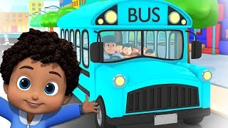 Wheels On The Bus | Bus Song | Nursery Rhymes & Kids Songs For Children