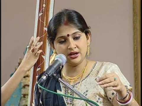 Kaushiki Chakraborty_Thumri- Bhigi Jaayo Guiya (raga Khambaj) free internet classical music .