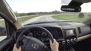 2018 Toyota Sequoia SR5 4x4 - POV Test Drive (Binaural Audio)