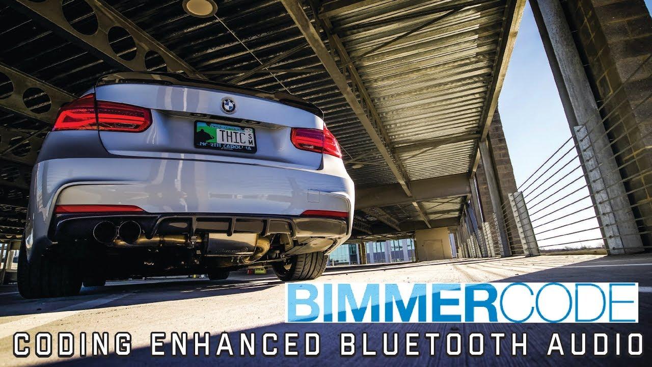 BIMMERCODE: ENHANCED BLUETOOTH AUDIO & A WORKAROUND