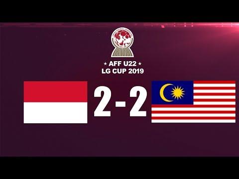 IMBANG INDONESIA VS MALAYSIA  HIGHLIGHT - AFF U-22 LG CUP 2019