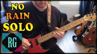 Blind Melon No Rain Cover w/Tabs/Lesson w/ extended Solo