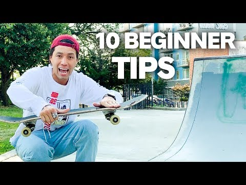10 Skate Tips EVERY BEGINNER Should Know Before Ollies!