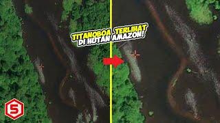 Lama Punah, Ular Raksasa TITANOBOA Terlihat Melintas di Pedalaman Hutan Amazon