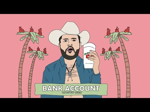 BANK ACCOUNT GONE COUNTRY - A Country Greg Cover