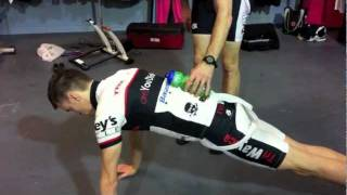 core routine for cyclists and triathletes