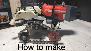 How to make tractor