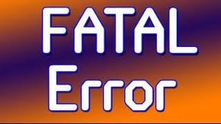 Modern warfare 2 fatal error pc