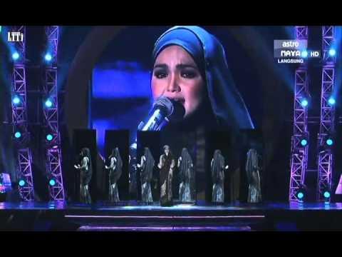 Dato Siti Nurhaliza _ Lebih Indah AIM20 LIVE