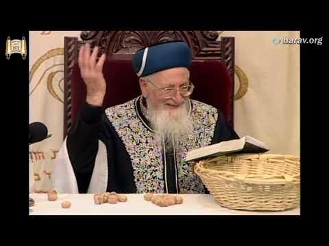 הפרשת תרומות ומעשרות בהדגמה מיוחדת עם הרב מרדכי אליהו