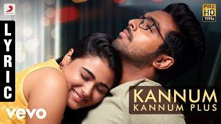 100% Kaadhal - Kannum Kannum Plus Tamil Lyric | G.V. Prakash Kumar, Shalini Pandey