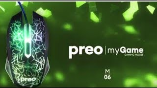 Preo My Game M06 Gaming Mouse/ Tanitim  #1