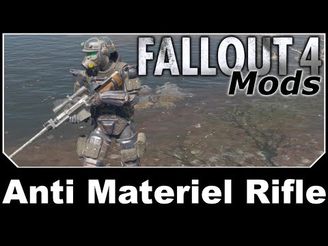 Fallout 4 Mods - Anti Material Rifle thumbnail
