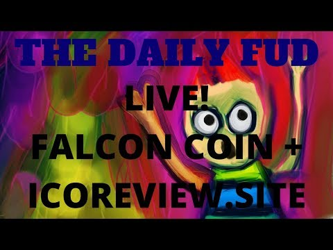 Reviewing Falcon Coin and ICOreview.site + Let's Chat!
