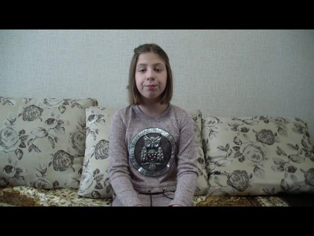 Изображение предпросмотра прочтения – ВикторияМатюшкина читает произведение «Урок доброты» Н.Анишиной