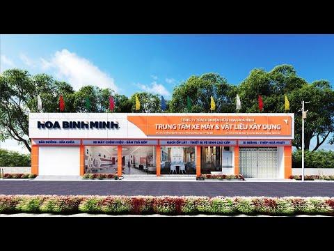 Khai trương Trung Tâm Xe máy & Vật liệu Xây Dựng Km5  - Công ty TNHH Hoà Bình