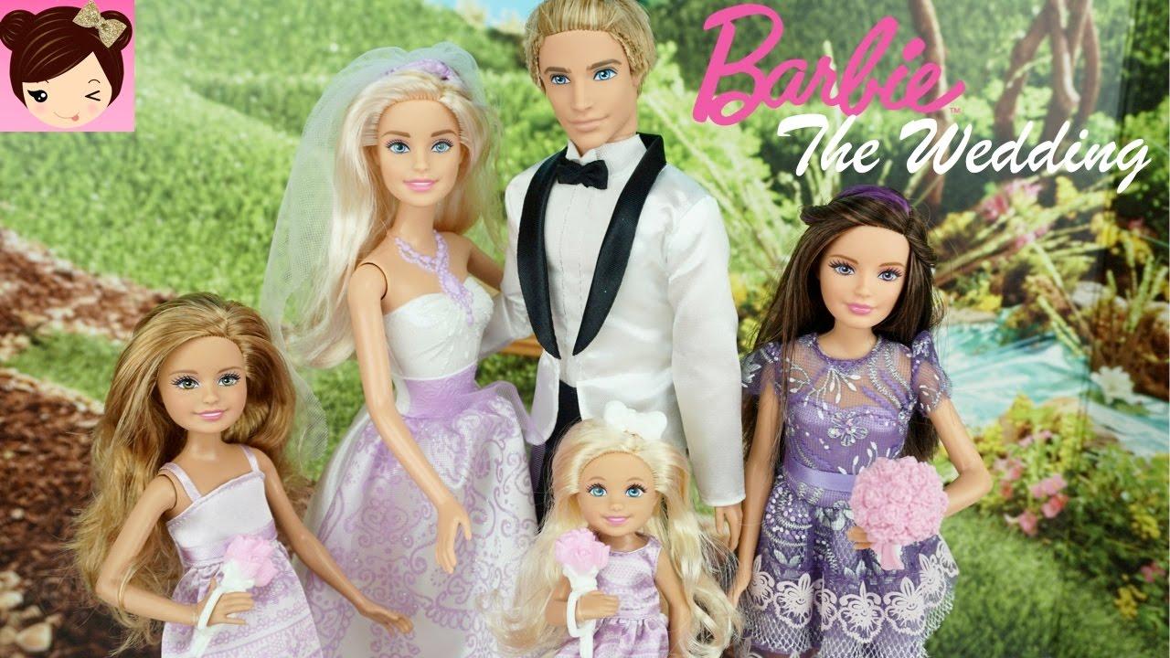 Barbie and Ken get Married - Doll Stories - Barbie Wedding ...