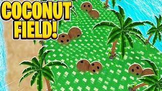 NOUVEAU champ de noix de coco dans Roblox Bee Swarm Simulator